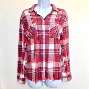 AÉROPOSTALE⚡️EUC Classic Flannel Shirt_M/L